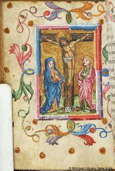 Book of Hours, MS S.14 fol. 47v - Images from Medieval and Renaissance Manuscripts - The Morgan Library & Museum