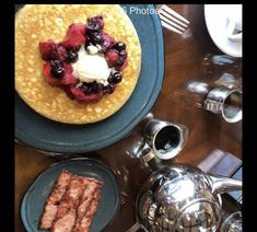 Dukes Restaurant, Fine Dining, Fresh Fruit, French Toast, Bacon, Make It Yourself, Meals, Breakfast, Food