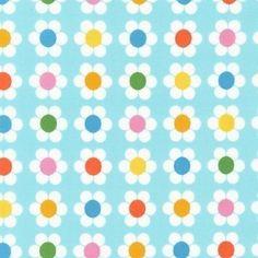 Remix Fabric by Ann Kelle for Robert Kaufman Daisy by fabricshoppe, $2.75