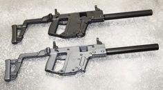 KRISS Carbine .45ACP in Black  Sniper Grey #guns #weapons