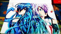 Fanart + oc    #anime #draw