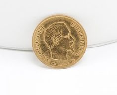 Estate Found French Emperor Napoleon III 1859 10 Franc 900 Gold Coin