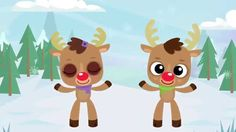Reindeer Pokey | Christmas Songs for Children