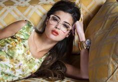 ca351597a9bc Glasses. Luciana Freire ·   glasses   · Geeky chic glasses Usando Óculos