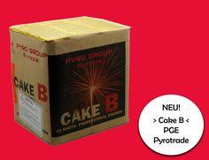 Cake B: Sehr abwechslungsreiche #Feuerwerksbatterie mit einer Brenndauer von 50 Sekunden. #Silvester, #Onlineshop, #Röder, #Feuerwerk