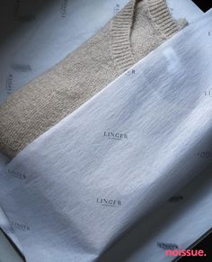 Branded packaging with sustainable custom tissue paper. Custom Packaging, Brand Packaging, Ecommerce Packaging, Custom Tissue Paper, Packaging Solutions, Minimalist Design, Typography, Custom Products, Wrapping