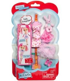 Bambole Fashion Imported From Abroad La Dee Da Ribbon Salon Playset Doll Spin Master