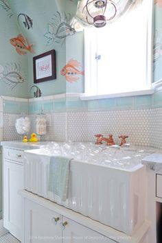 Pasadena Showcase House 2014 - eclectic - Bathroom - Los Angeles - A. Peltier Interiors