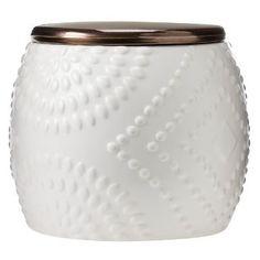 Ceramic Cookie Jar Shell White - Threshold™