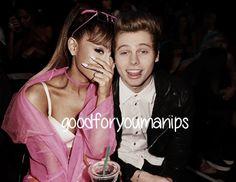 Ariana Grande & Luke Hemmings manip   requested