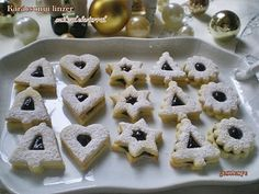 Gesztenye receptjei: Karácsonyi linzer szilvalekvárral töltve