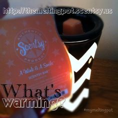 A Wink & A Smile ... a perfect Scentsy scent! Get this one and brighten up any space with this sweet, girly scent! http://themeltingpot.scentsy.us  and follow along on Facebook for more fun! www.facebook.com/Jacqui.meltingpot #scentsy #smile #girly #mymeltingpot