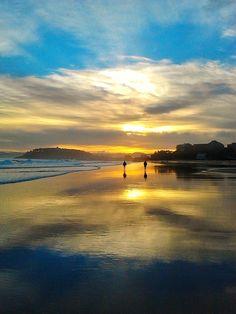 Playa del Sardinero ..una mañana de diciembre.. #Cantabria #Spain