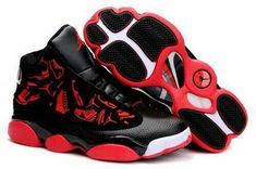 Jordan Shoes Air Jordan 13 Embroidery Black Varsity Red White [Air Jordan 13 - Fantastic Air Jordan 13 Embroidery Black Varsity Red White shoes are very comfortable for you to wear. The upper made of full grain leather and suede offers lots of durabil Jordan Shoes Girls, Michael Jordan Shoes, Jordan Outfits, Air Jordan Sneakers, Sneakers Nike, Zapatillas Jordan Retro, Air Jordans, Jordans For Men, Running Shoes Nike