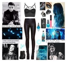 """✖ I want you. I'll colour me blue anything it takes to make you stay. Only seeing myself when I'm looking up at you.  I know you're seeing black and white so I'll paint you a clear blue sky. ✖"" by blueknight ❤ liked on Polyvore featuring Topshop, NARS Cosmetics, OPI and Casetify"