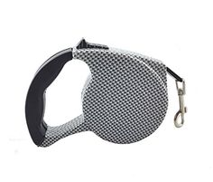 Yueton 16.5 ft Pet Dog Cat Puppy Retractable Leash Traction Rope Walking Lead Leash (Black  #DogCollarsHarnessesLeashes