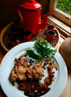 chicken in coffee sauce / brazilian recipe <3