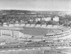Stadion, Miskolc Hungary, Paris Skyline, Red And White, The Past, 1, Travel, Life, Retro, Green
