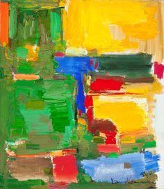 Hans Hofmann / Dew and Dusk / 1957 / Milwaukee Art Museum Willem De Kooning, Robert Rauschenberg, Joan Mitchell, Jackson Pollock, Helen Frankenthaler, Abstract Expressionism, Abstract Art, Abstract Paintings, Painting Art