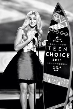 Chloe won Teen Choice 2015!