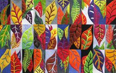 Windfall 2 by quilt artist Carol Taylor #artquilts