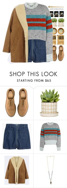 """*life is too short to wait*"" by my-black-wings ❤ liked on Polyvore featuring Dr. Martens, Madewell and Jonathan Saunders"