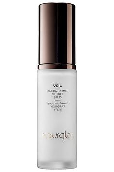 """Hourglass Veil Mineral Primer Broad Spectrum SPF 15   """"It's a staple. It keeps your foundation from fading, helps to smooth the surface of your skin, and gives a beautiful glow all day...plus, it has an SPF 15. It's important to wear SPF all year, not just in the summer."""""""