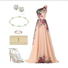 Bridesmaid look