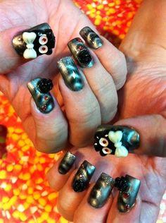 Spooktacular by SHERRISNAILS - Nail Art Gallery nailartgallery.nailsmag.com by Nails Magazine www.nailsmag.com #nailart