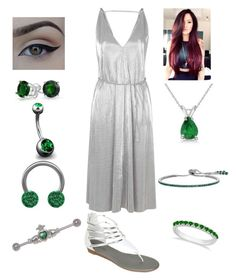 """Emeralds are a girls best friend"" by bsalvinski6364 on Polyvore featuring Topshop, Bling Jewelry, Allurez and CARAT*"