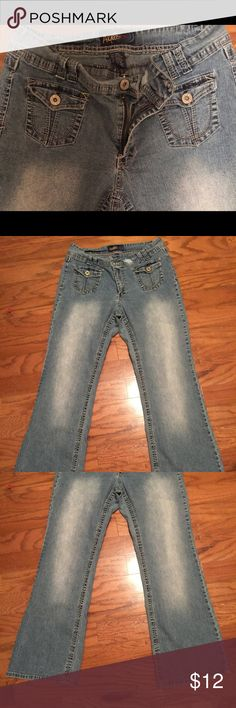 Angels Size 18 Flare Bottom Denim Jeans Angels Size 18 Flare Bottom Denim Jeans Angels Jeans Flare & Wide Leg