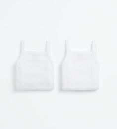 Pack of two bodysuits with straps-ACCESSORIES-MINI | 0-12 months-KIDS | ZARA Canada