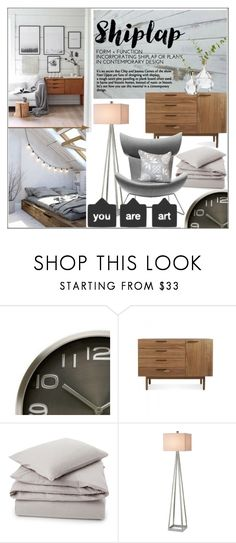 """Shiplap Contemporary Home"" by pat912 ❤ liked on Polyvore featuring interior, interiors, interior design, home, home decor, interior decorating, Karlsson, Blu Dot, H&M and Lexington"