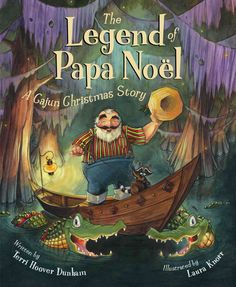 Around the world Santa Claus has many names. But in a deep, swampy bayou of Louisiana, he's known as Papa Noel. In such a hot and humid place, there can be no sleds or reindeer, so Papa Noel rides the