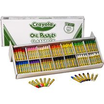 Crayola Oil Pastel Stick Classroom Pack includes jumbo-sized sticks, 24 each of 10 colors and 48 each of black and white, all measuring 3 in x in dia. Non-Toxic and hexagonal stick is sold as 336 per pack. Oil Pastel Crayons, Color Crayons, Chalk Pastels, Oil Pastels, Drafting Tools, Oil Painting Supplies, Color Names, School Supplies, Art Supplies