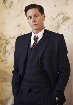 Detective Inspector Jack Robinson (Nathan Page) #MissFisher #PhryneFisher #JackRobinson #NathanPage #vintage #vintagefashion #mensfashion #style #1920s