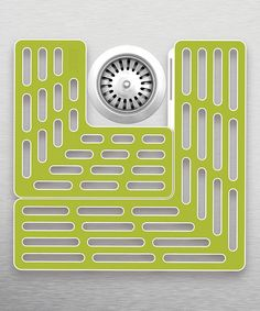 Protect your sink from scratches and your glassware from nicks with this mat boasting a soft rubber surface and secure base.
