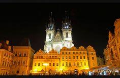 The Church of Our Lady Before Tyn, Prague, Czech Republic