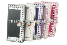Luxury Design Flip Leather Case For HTC One M7  1.New Arrival  2.With 2 Card Slots + 1 Money Slot  3.Paypal is acceptable