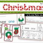 Christmas Sight Word Flip Books