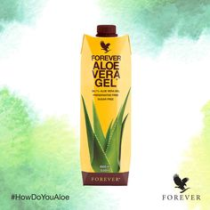 Want to experience the wonderful power of nature? Our Aloe Vera Gel is packed with Vitamin C and inner leaf aloe gel, it's great for the skin, immune system and as a digestive aid. Forever Living Aloe Vera, Forever Aloe, Forever Freedom, Forever Business, Natural Facial, Forever Living Products, Soft Hair, Aloe Vera Gel, Health And Wellbeing