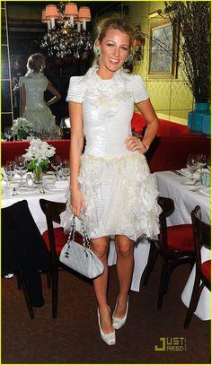 Blake Lively: Chanel Dinner!   blake lively chanel dinner 07 - Photo