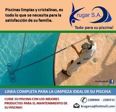 Confia en Krugar S.A. sus proveedores #1 en quimicos e insumos de limpieza para #piscinas, llámanos hoy mismo y te brindaremos lo mejor en asesoria para la limpieza de piscinas  Telfs: 04 2288904, 2289732 ó escríbenos: info@krugarsa.com  #piscinas #mantenimientodepiscinas #ecuador #enviogratisgye #wespeakenglish #guayaquil