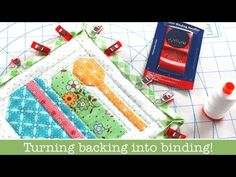 Quilted Farm Girl Vintage Potholders + How to Use Excess Backing Fabric as Your Binding from Kimberly Jolly