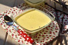 Fromage ou Dessert ? ... DESSERT !!!: La crème anglaise à IG bas... et si on en faisait tout un flan ?