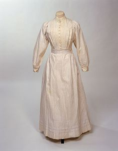 maid's dress  Europe, United Kingdom  1900-1910