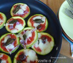 #pizzette vegetariane di #zucchine