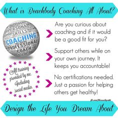 Do you LOVE be healthy? Turn it into a business and join my team! Contact me at coachpatti.info@gmail.com