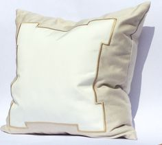 SOHIL I 'Classic'Embroidered outdoor pillow from our Limited Edition Collection I www.sohildesign.com
