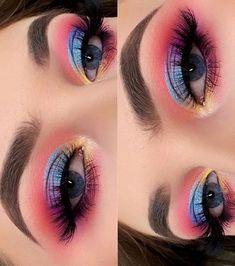 Makeup Eye Looks, Beautiful Eye Makeup, Eye Makeup Art, Glam Makeup, Skin Makeup, Eyeshadow Makeup, Beauty Makeup, Eyeshadow Palette, Anastasia Beverly Hills